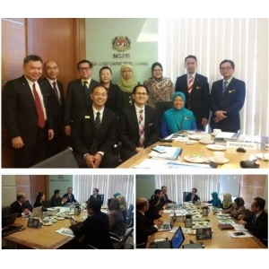 Courtesy Visit to MOSTI New Timbalan Ketua Setiausaha (Sains)
