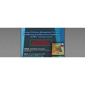 Energy Efficiency Management For Air- Conditioning And Mechanical Ventilation (ACMV) Training Course