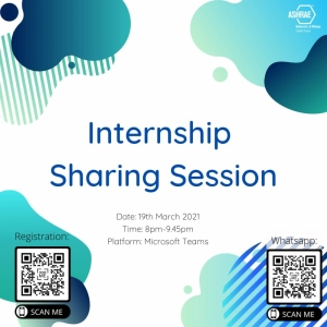 Internship Sharing Session