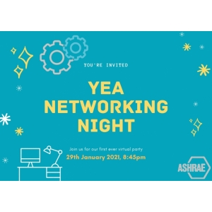 YEA Networking Night- Fri. 29 Jan. 2021,